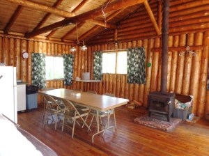 Otter Island Big Cabin Dining Room
