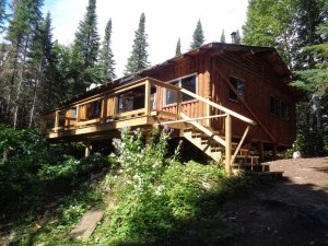 Otter Island Big Cabin Front 1