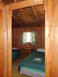 Otter Island Small Cabin Bedroom