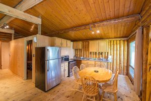Camp Lochalsh Cabin 2 Kitchen