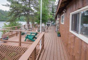 Loch Island Lodge Deck