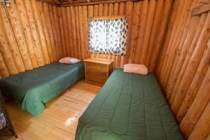 Otter Island Small Cabin Bedroom 1