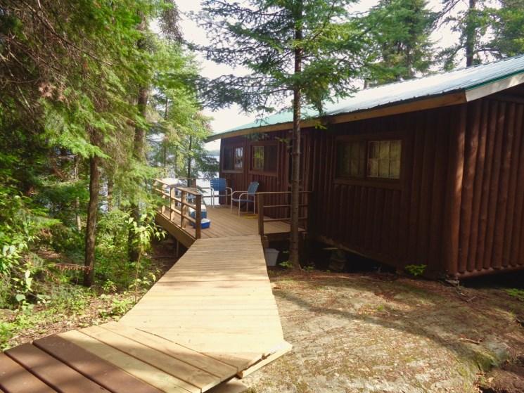 Loch Island Cabin #3 deck