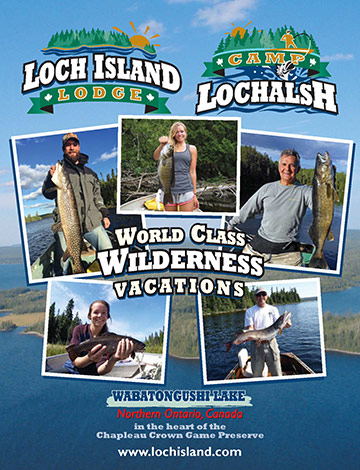 Loch Island Lodge - Northern (near Wawa) Ontario Fishing Lodge