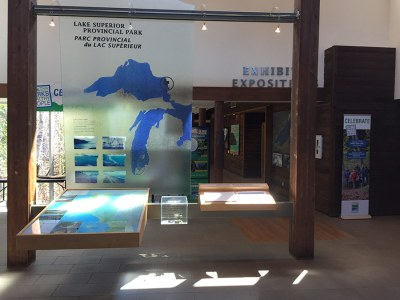 Agawa Bay Visitor Center Lobby