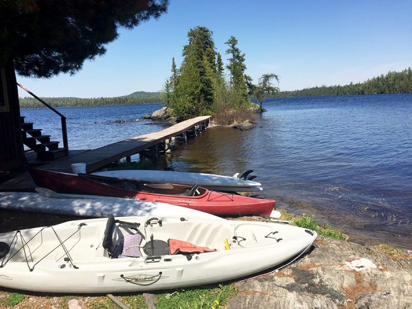 Kayaks and Paddle Boards at Loch Island