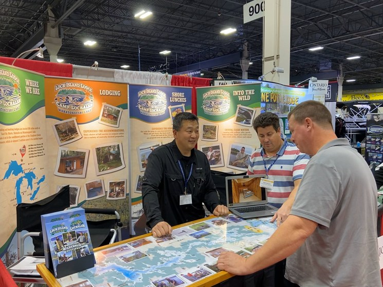 2020 Ultimate Fishing Show Booth