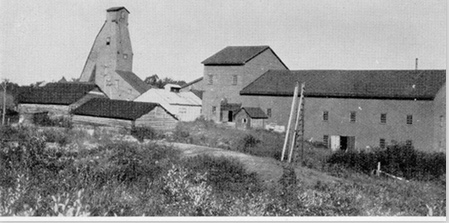Goudreau Mill and Shafts, 1931