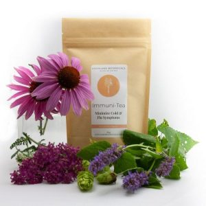 immune booster immuni-tea loose leaf tea from Lochland Botanicals