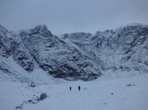 Coire Ardair cliff face