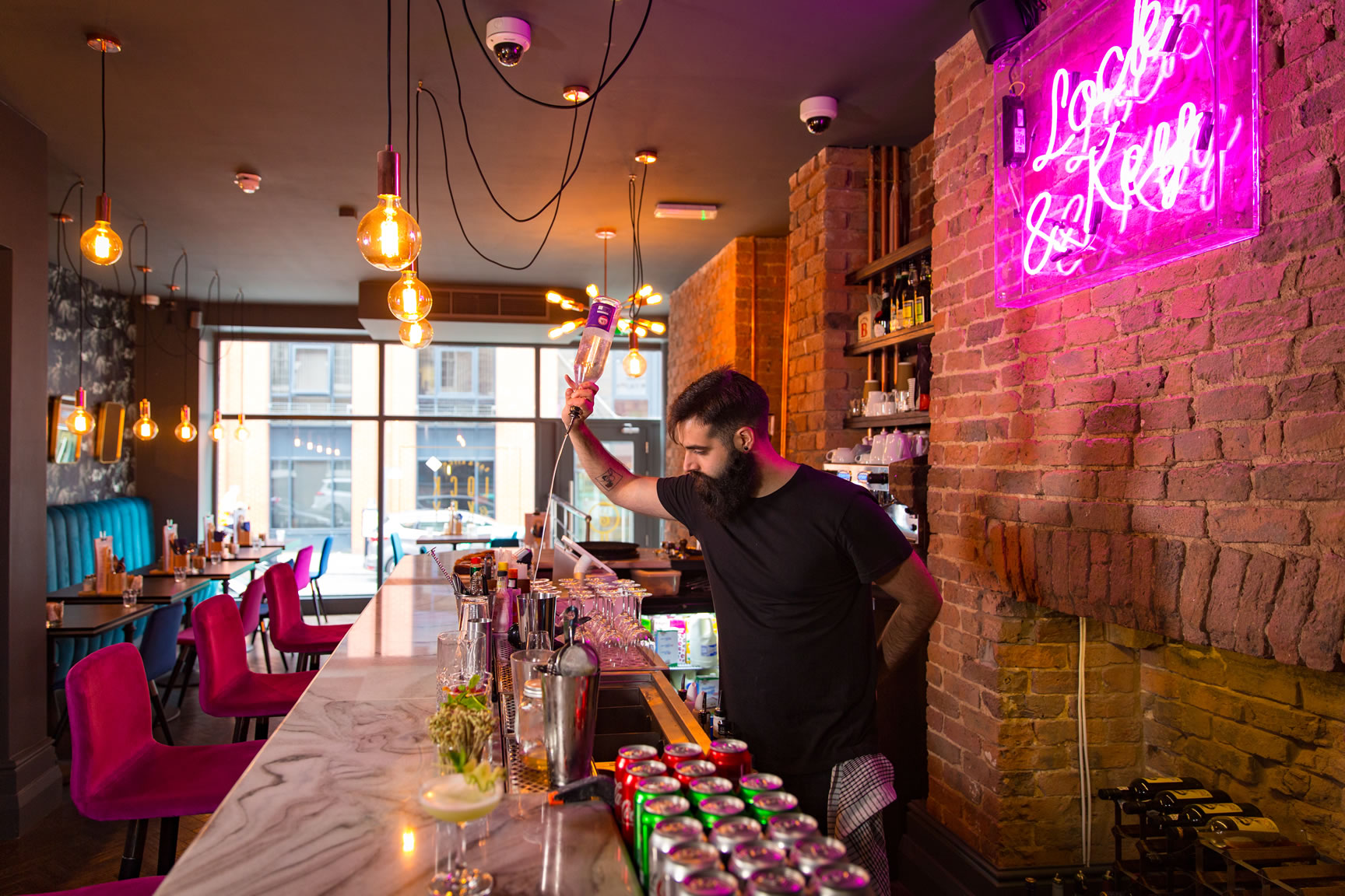 Cocktails at Lock & Key Hotel