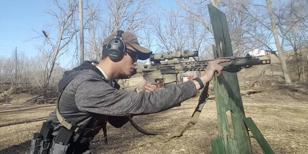 Shooting from Barricades: Keep the Barrel Off Support to Ensure Accuracy