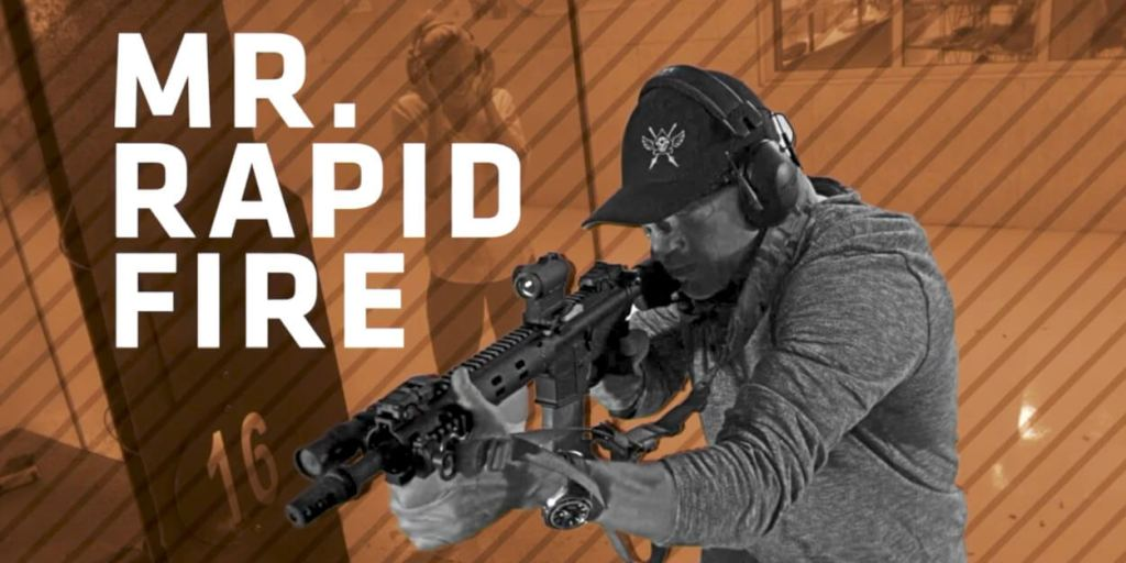 People at the Range: Mr. Rapid Fire
