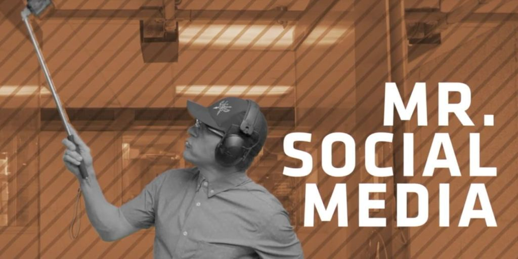 People at the Range: Mr. Social Media