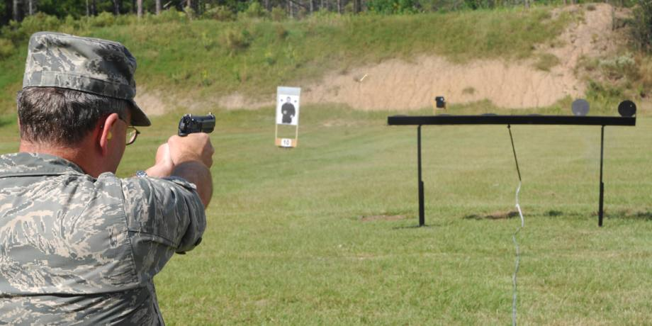 Shooting Steel Targets Safely