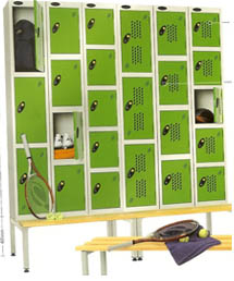 lockers for golf club | lockers for leisure club