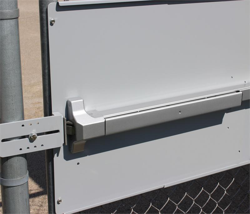 Chain Link Fence Gate Panic Bar