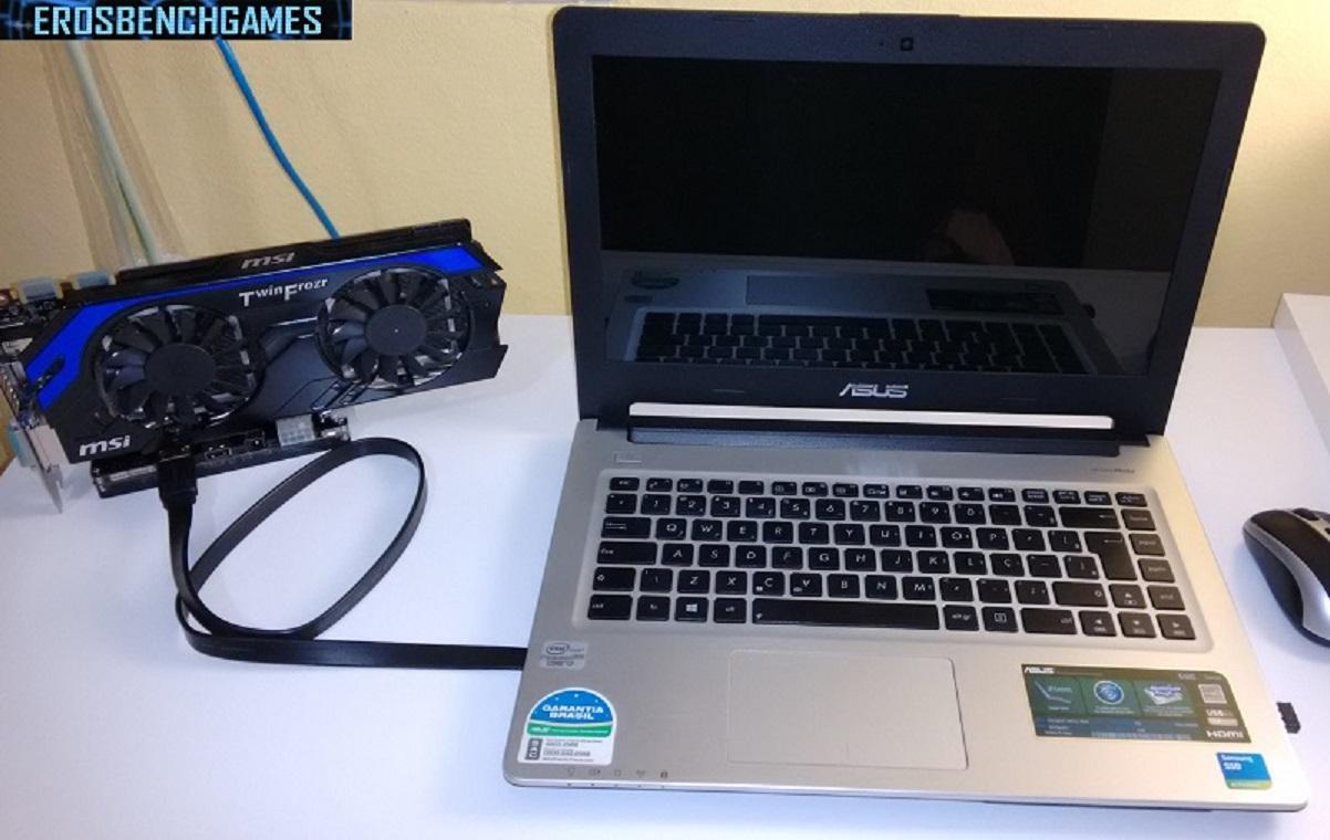 EGPU caseira: Como ligar uma GPU externa ao seu notebook