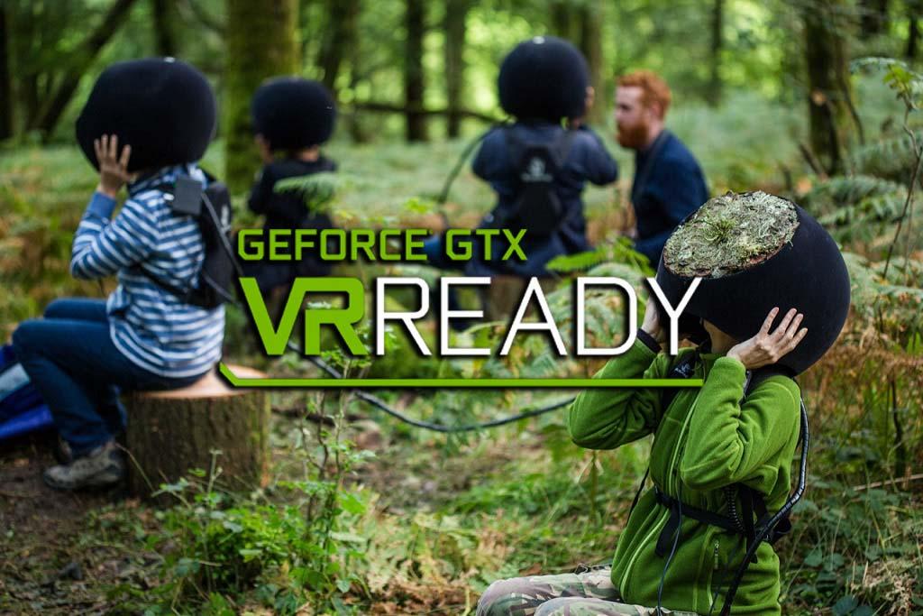 GeForce GTX leva realidade virtual à Av. Paulista