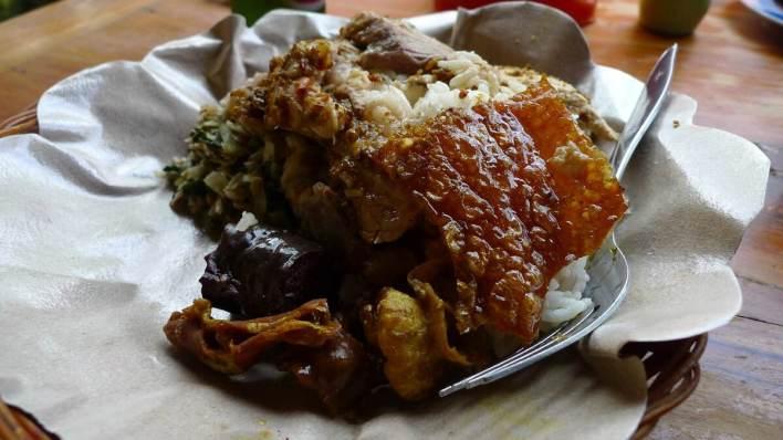 峇里島必吃美食 - 烤乳豬 Babi Guling