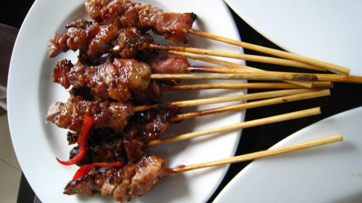 峇里島必吃美食 - 沙爹 Sate