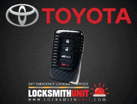 Toyota Car Key Replacement and Ignition | Locksmith Unit