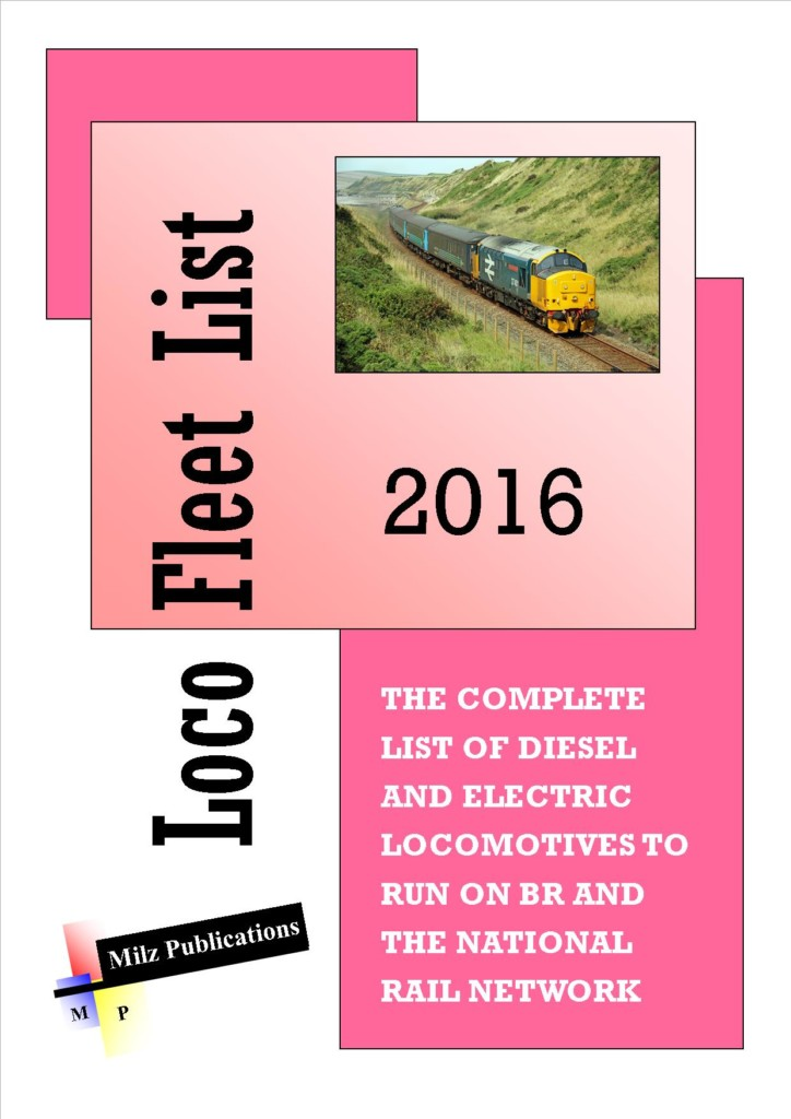 Loco Fleet List 2016