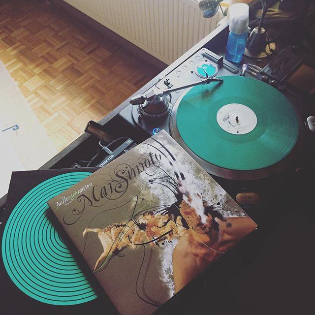 #halloziehnation - wir ham' lange drauf gewartet... #releaseday #marsimoto #greenberlin #greenbremerhaven #vinyl #green