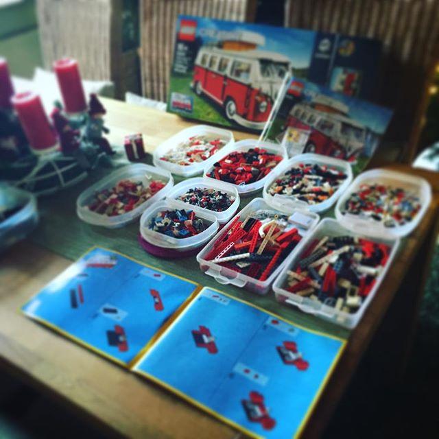 Ist man auch nie zu alt für...  #Lego #vw #t1 #weihnachten #bremerhaven #retro
