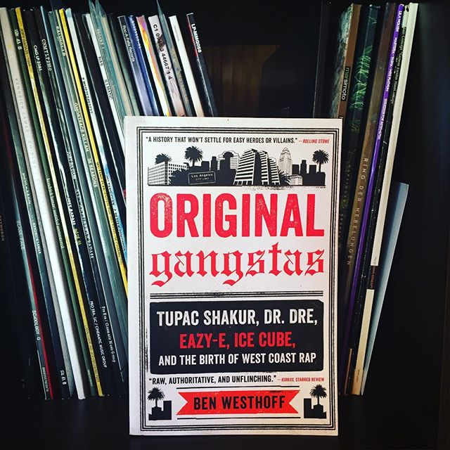 As the Holiday Season is approaching, it's Time for a good read! #originalgangstas #benwesthoff #2pac #eazye #drdre #icecube #westcoast #rap #history #myyouth #book #paperback #lessons
