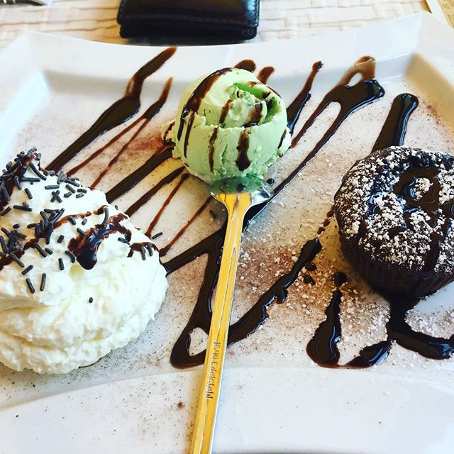 After 1 hour of sports today - well deserved  #deserved #instafood #tasty #malheur #pistacchio #icecream #goodday #keepgrinding #cheatday