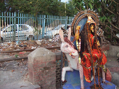 Goddess at the ghat