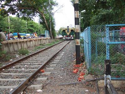 Local Train in Kolkata