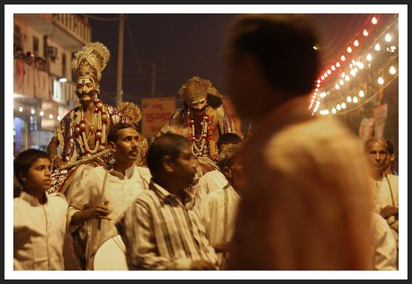 Ramlila, a Hindu Festivity in Delhi