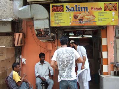 Salim Kabab at Khan Market