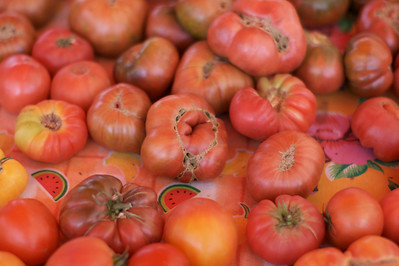 Tomatoes from local Farmers market