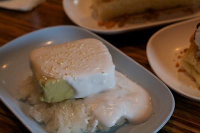 Durian custard