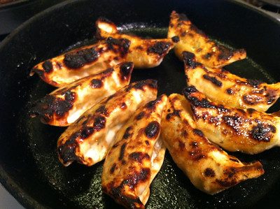 Broiled dumplings