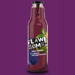 Flawsome - Apple & Superberry 750ml (Glass) - Available on LocoSoco