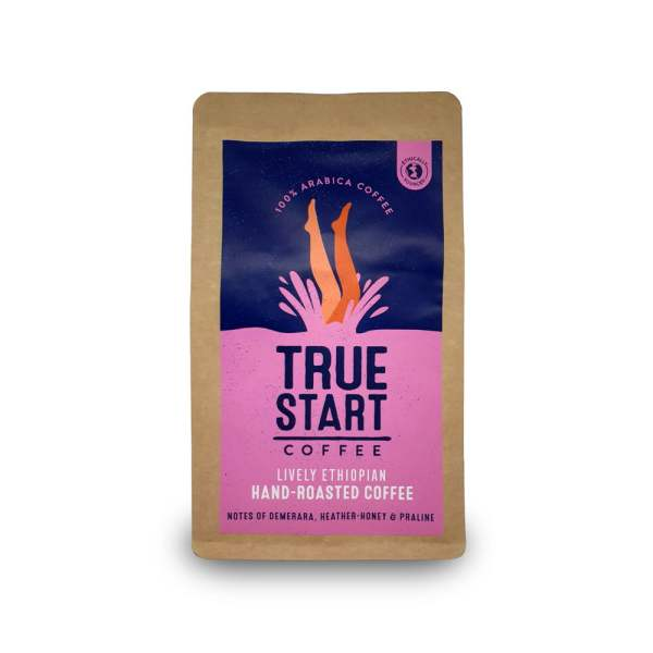 Ground Lively Ethiopian - 200g Bag x 6 by TrueStart Available on LocoSoco