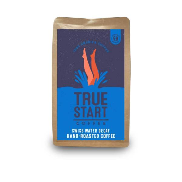 Ground Swiss Water Decaf Brazil - 200g Bag x 6 by TrueStart Available on LocoSoco