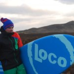 Loco SUP on location in the Scottish Highlands