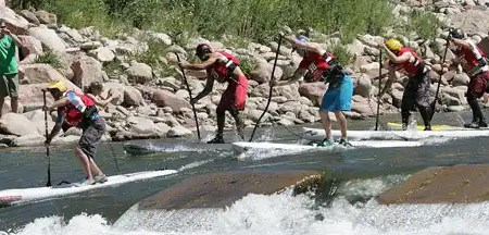 Rapidly Taking Hold – Whitewater SUP