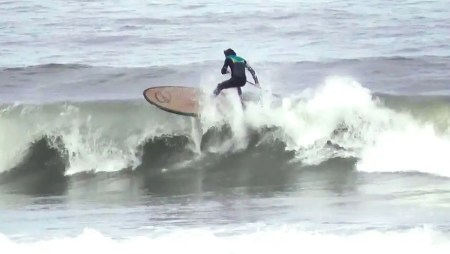 Loco SUP Surfing in Scarborough with Steve Laddiman