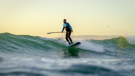 Loco SUP Surfing In Morocco