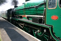 Watercress Line - Medstead & Four Marks - 850 Lord Nelson
