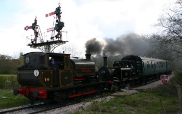 Departing Tenterden Town - 14 Charwelton & 32670
