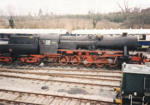 1995 - Wansford - (German built ex- Polish State Railways Kriegslokomotiven or Kriegslok) 7173