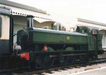 1994 - Churston - 64xx pannier tank 6435