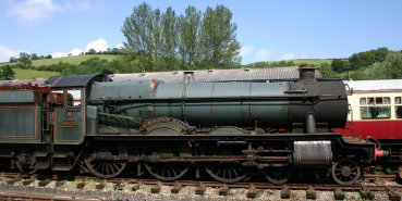 South Devon Railway - 4920 Dumbleton Hall 2012